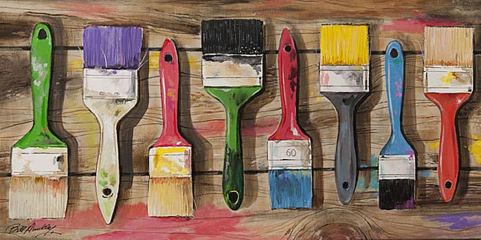 Art is Paint by Bill Dunkley