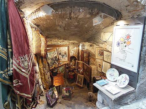Art Store in St Paul de Vence by Marilyn Dunlap