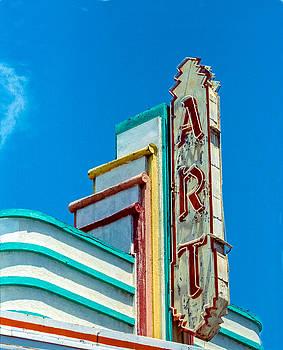 Art Theater--Film Image by Matthew Bamberg
