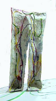 Arteries globalized by Elisa Merino Calvo