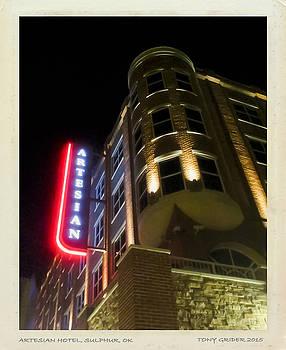 TONY GRIDER - Artesian Hotel Suphur OK Polaroid