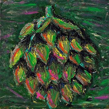 Artful Artichoke by Davis Elliott