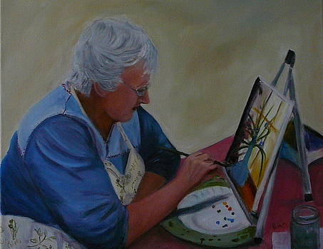 Artist at Work by Betty Pimm