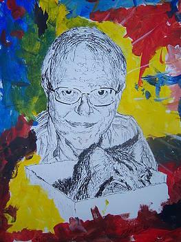 Artist Bruce Combs by Ken Day