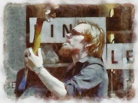 Artist Musikant by Yury Bashkin