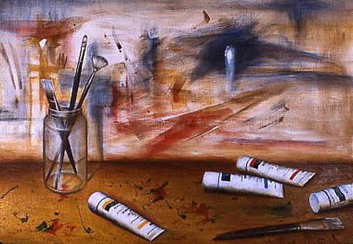 Artist Still life by Michael Ryan