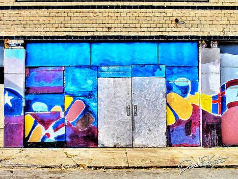 Artist Village Wall by David Kyte