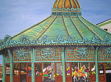 Asbury Park Carousel House II by Norma Tolliver
