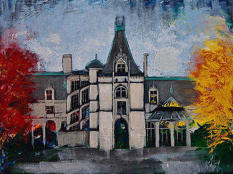 Asheville Castle in the Mountains  by Gray  Artus