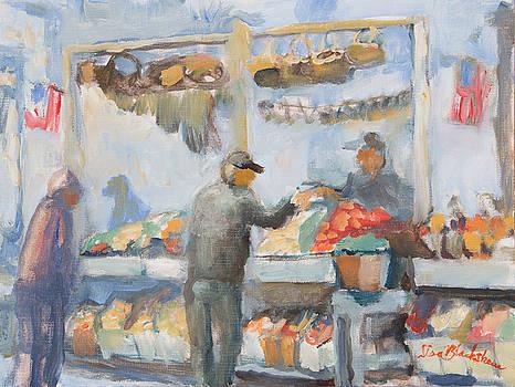 Asheville Farmer's Market by Lisa Blackshear