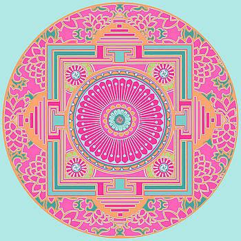 Asian Inspiration Mandala by Joy McKenzie