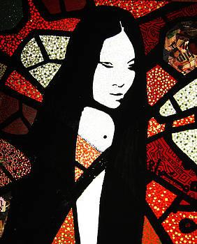 Asian Mirror by Voodo Fe'