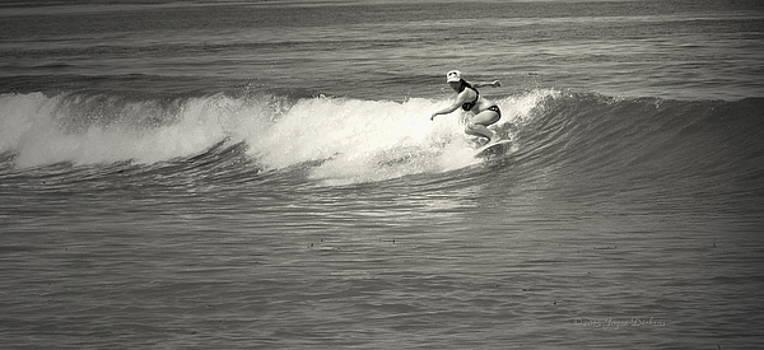 Joyce Dickens - Asilomar Surfing Girls Do It Too