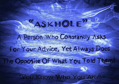 Askhole 14 by Sherman Perry