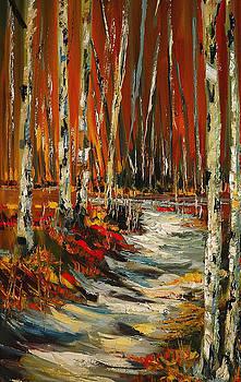 Aspen Path by Diane Whitehead