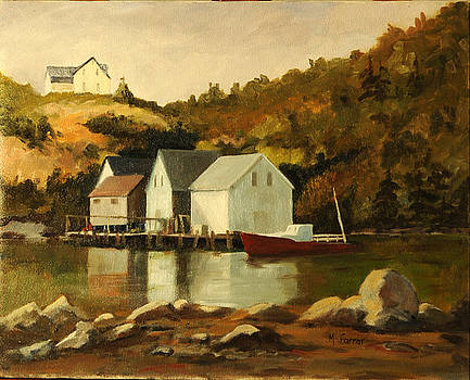 Aspotogan Nova Scotia by Margaret Farrar