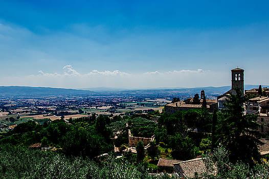 Assisi by Cesare Bargiggia