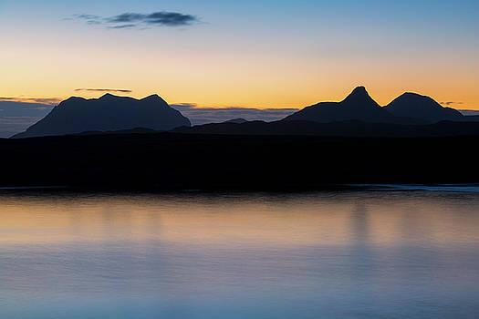 Assynt Mountains at Dawn by Derek Beattie
