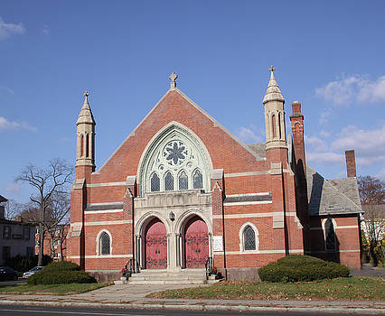 Asylum Avenue Baptist Chruch by Gerald Mitchell
