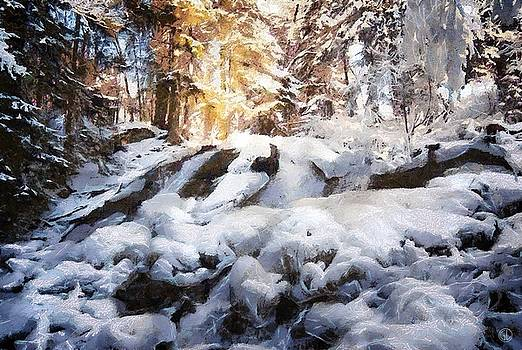 At last winter arrived by Gun Legler