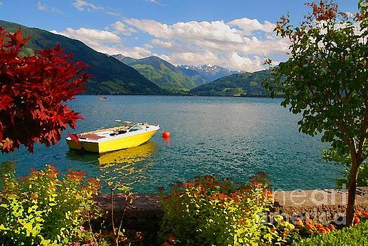 At Peace in Zel am See by Josephine Benevento-Johnston