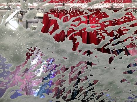 At The Car Wash 4 by Marlene Burns