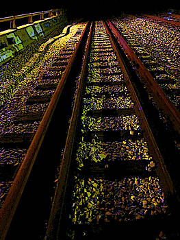 At the End of a Railroad Track by Guy Ricketts
