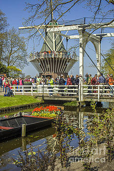 Patricia Hofmeester - At the Keukenhof gardens