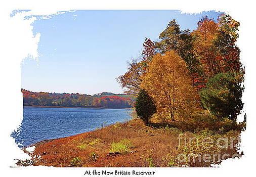 At the New Britain Reservoir by Marcel  J Goetz  Sr