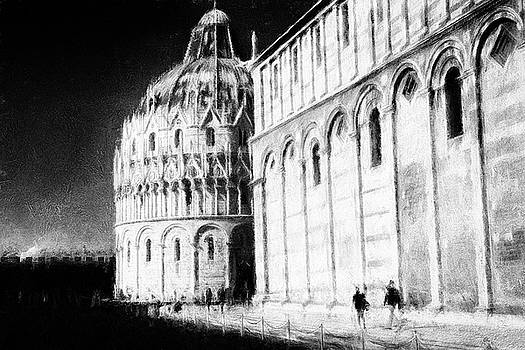 At the Santa Maria Assunta Cathedral in Pisa by Frank Andree