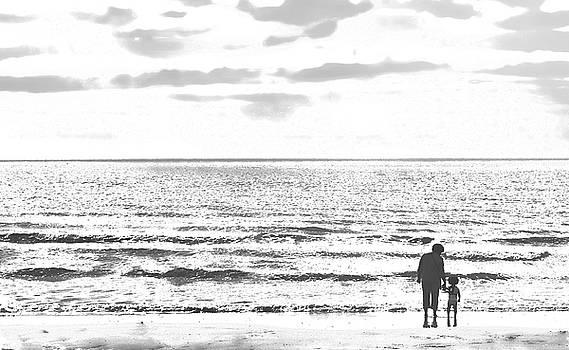 At the sea shore by Paul Jarrett