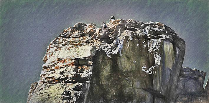 Steve Ohlsen - At the Top 2 - Jackson Hole - Tetons