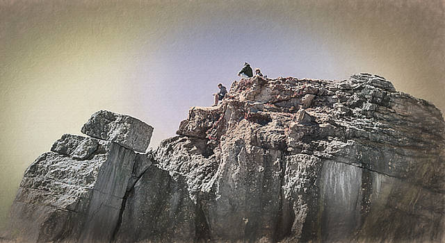 Steve Ohlsen - At the Top - Jackson Hole - Tetons