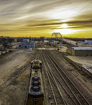 Atchison East from 5th by Mark McDaniel