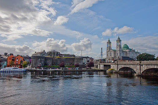 Athlone on the River Shannon, Co. Westmeath Ireland by Deborah Squires