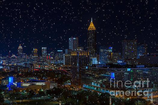 Atlanta Christmas by Doug Sturgess
