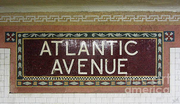 Atlantic Avenue Subway Sign by Nishanth Gopinathan