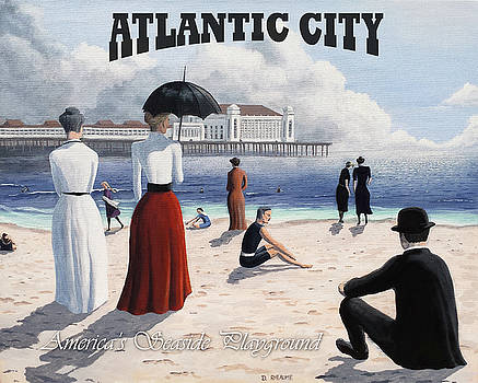 Atlantic City Poster by Dave Rheaume
