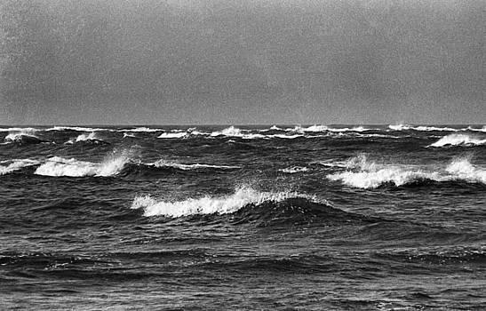 Atlantic Ocean, Cape Hatteras, North Carolina, 1968 by Wayne Higgs