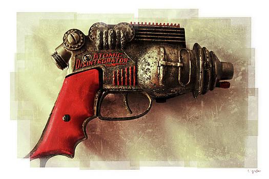 Atomic Disentigrator Ray Gun Steampunk Relic Modern Edition by Tony Grider