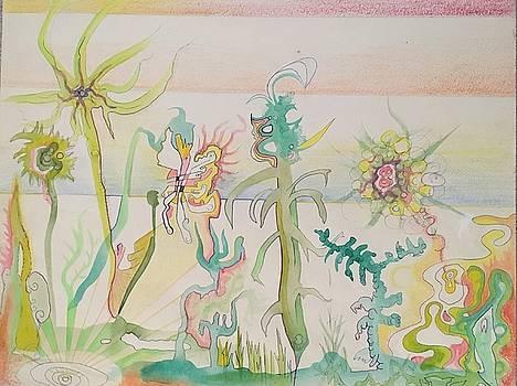 Atomic Veggie Garden by Douglas Fromm