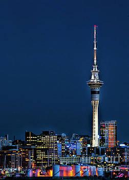 Auckland Skytower by Karen Lewis