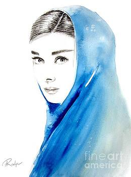 Audrey Hepburn 3 by Andrea Realpe