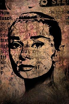 Audrey Hepburn #7 by Kim Gauge