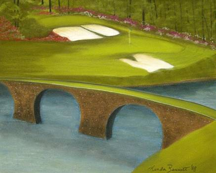 Augusta-The 12th Hole by Linda Bennett