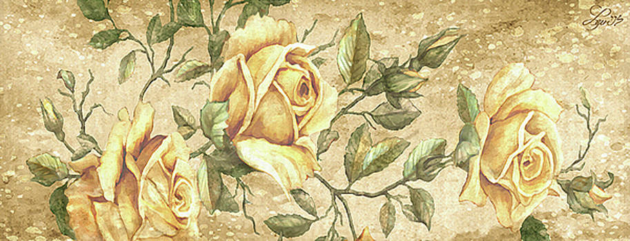 Aunt Marie's Roses by Beverly Levi-Parker