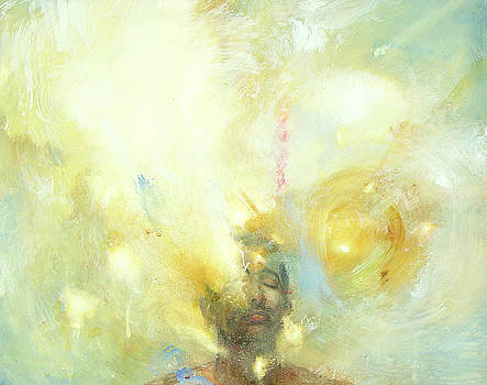 Aura- Siddhartha Gautama 6 Days Before Enlightenment by Felipe Echevarria