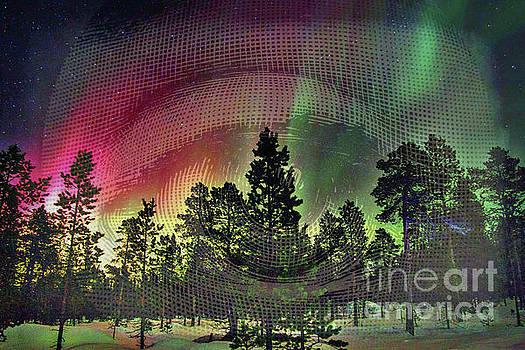 Aurora Borealis Eyes by Todd Breitling