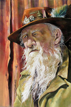 Aussie Anzac by Rae Andrews