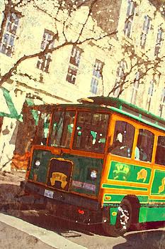 Austin Trolley by Barbara Kelley
